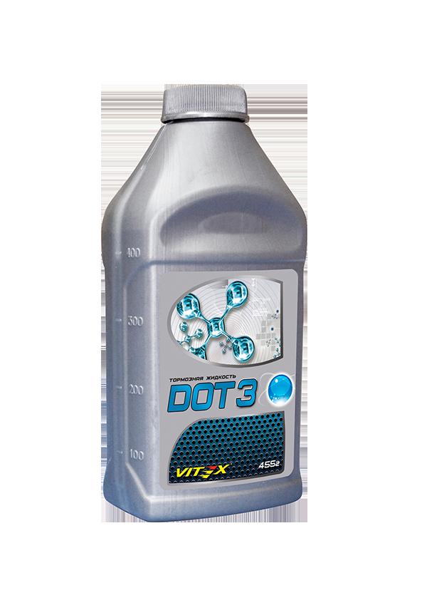 Тормозная жидкость Vitex DOT-3