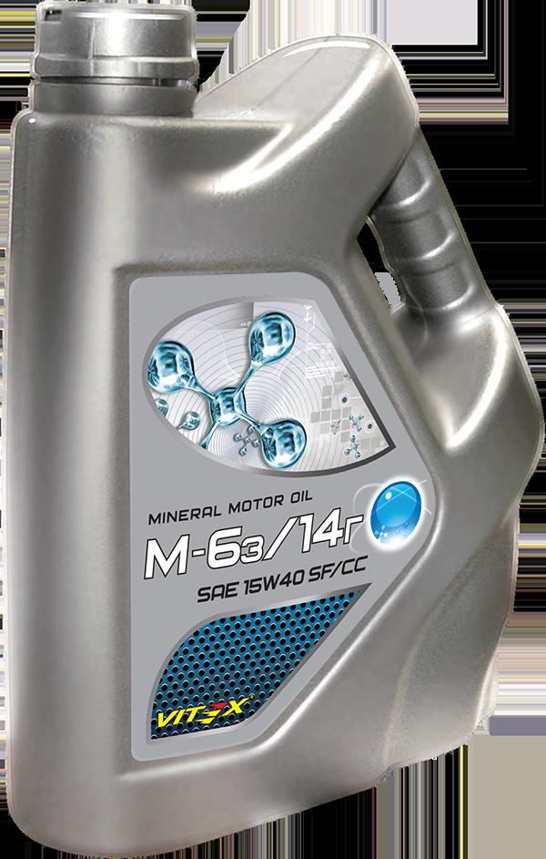Минеральное моторное масло 15W-40