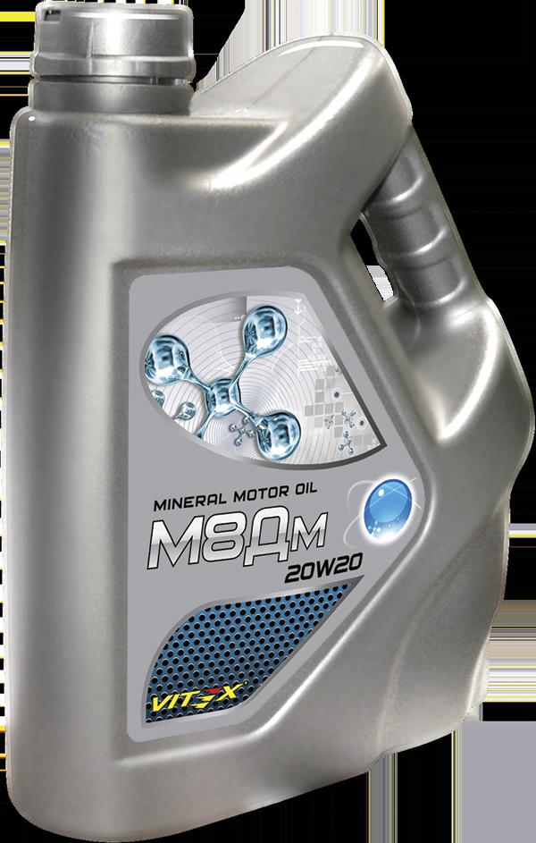 Минеральное моторное масло 20W20