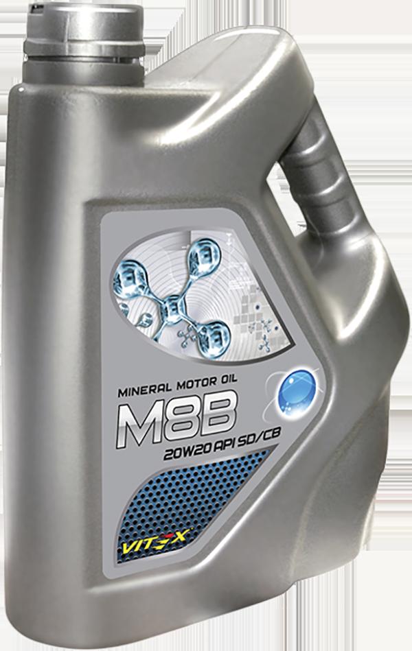 Минеральное моторное маслоVitex М8В