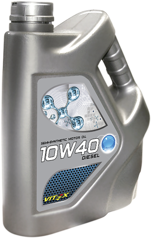 Моторное масло для дизельных двигателей Vitex Diesel 10W–40