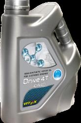 Масло для четырехтактных двигателей Vitex Drive 4T 10W-40